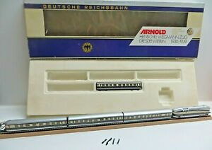 Arnold 0166 N Henschel Wegmann Train Set 61 001 The DRG Illuminated Boxed