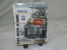 WWII Micro Armour GHQ War Games 1/285 Scale UK-65 Sherman V M4A4 w/o Skirts