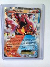 Volcanion EX Pokemon Card 26/114 Steam Siege Near Mint Minus Condition (NM-)