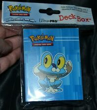 Froakie Deck Box Ultra Pro For Collectible Trading Cards Games Pokemon Case