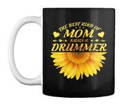 Drummer Mom Mother Sunflower Gifts Gift Coffee Mug