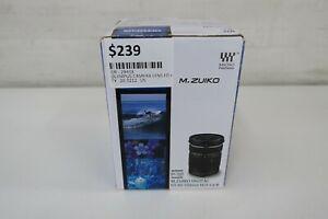 Olympus M.Zuiko ED 40-150mm f/4-5.6 R Lens (Black) Good Condition