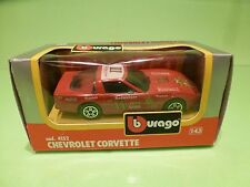 BBURAGO 4152 CHEVROLET CORVETTE BUDWEISER - 1:43 - GOOD CONDITION IN BOX