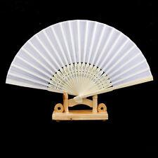 Eventail Ventilateur Papier Fan Pliable DIY Ecriture Peinture Pr Enfant Dansant
