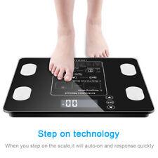 Digital Body Fat Scale BMI Water Muscle Calorie Bone Weight 400lb 12 Users