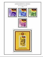 DEUTSCHLAND 1868-2011 Briefmarken Album DVD (818 farbig illustrierte Seiten)