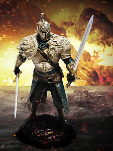 "Dark Souls II 2 Figure 12"" Warrior Knight Statue Figurine LIMITED Edition LOOSE"