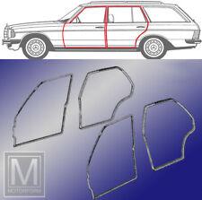 Original Qualität Mercedes W123 Kombi T-Modell Satz Türdichtungen 4 Dichtungen