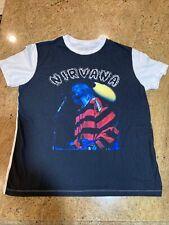 Nirvana Kurt Cobain Playing Guitar Shirt (XL - 2XL Tag) New