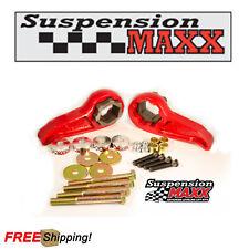 Suspension Maxx MAXXStak Adjustable Front Level Kit For 17-19 Silverado HD 4WD