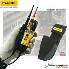 Fluke T150 With H15 Holster Voltage & Continuity Electrical Tester 6v-640v