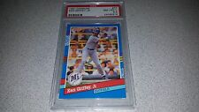 1991 DONRUSS #77 KEN GRIFFEY JR CARD GRADED PSA 8.5 NM - MINT + LOW POP