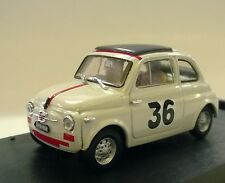 BRUMM 1:43 AUTO DIE CAST FIAT NUOVA 500 PREMIO CAMPAGNANO 1965 I. GIUNTI    R476