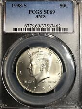 1998-S PCGS SP 69 SMS KENNEDY HALF DOLLAR