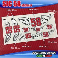 Set n.7 adesivi SIC 58 Simoncelli Ali Angel SIC6