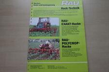 163674) Rau Hacken Prospekt 03/1981