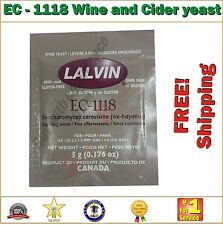 EC-1118 Wine and Cider Yeast 5g - For the Homebrew Hobbyist