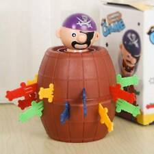 Lucky Adult Kids Party Toy Game Pirates Barrel Stab Pop Up Gadget Desktop Toys