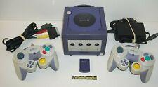 ++ console nintendo gamecube avec 2 manettes et carte mémoire 16 MB ++