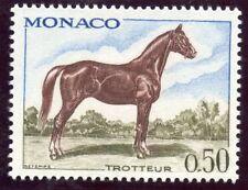 STAMP / TIMBRE DE MONACO N° 835 ** FAUNE / CHEVAL / CHEVAL TROTTEUR