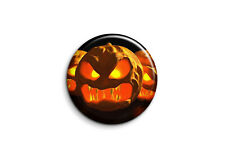 Badge Epingle 38mm Button Pin - Halloween - Jack o lantern 2