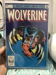 WOLVERINE 2 LIMITED SERIES OCTOBER 1982 VERY FINE+ MARVEL COMICS SIGNED