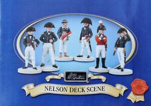 Britains 41118  -  Nelson Deck Scene - Limited Ed.- LONG RETIRED & SOLD OUT