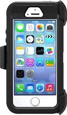 OtterBox Defender Series Case for iPhone 5/5s/SE - Black - Frustration Free Pack
