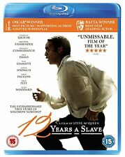 BLU-RAY  12 YEARS A SLAVE        BRAND NEW SEALED UK STOCK