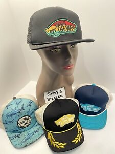 4-Pack Of Classic VANS Off The Wall Hats - Pre-owned - Surf, Skate, BMX, Chess