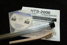HTS-2000 Metal Repair Solder Brazing Rods~ Easy Instructions~ (1/2 LB) KIT