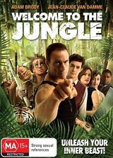 Welcome to the Jungle - DVD Movie Region 4  - Van Damme - Comedy