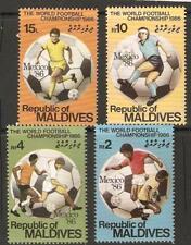 MALDIVE ISLANDS SG1175/7 WORLD CUP FOOTBALL  MTD