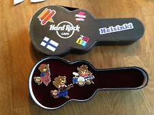 Hard rock cafe Helsinki Grand Opening Party Bear pin box 2013