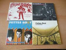 4 Single & Maxi CD Set Fettes Brot - Ansehen - Kult!