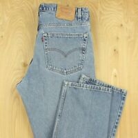 vtg LEVI's usa made 505 fit red tab jeans 38 x 34 tag dad normcore stone wash
