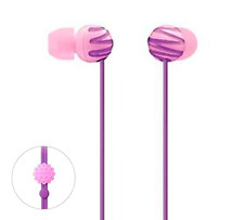 Sony MDR-EX25LP V Stereo Headphones In Ear earphones - Violet / Genuine