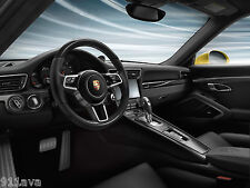 PORSCHE 991.2  TURBO S  GT3 RS  NEW MULTI  FUNTION CARBON FIBER STEERING WHEEL