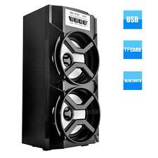 Outdoor Bluetooth Wireless Speaker Portable Super Bass w/ USB/TF/AUX/FM Radio