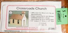 American Model Builders, Inc S #91 Crossroads Church (Laser Cut Building Kit)