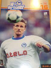 2000/01 1.Bundesliga Hertha BSC Berlin - Eintracht Frankfurt