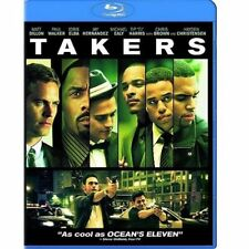 Takers : Action Movie - Blu-Ray - The Movie + Special features, New Sealed