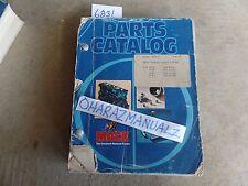 Mack Truck F797ST Parts Book Catalog Serial #'s 1409-1412 Manual OEM