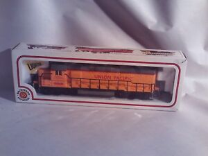 VINTAGE BACHMAN HO SCALE LIGHTED 866 UNION PACIFIC TRAIN ENGINE Untested
