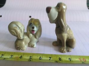 Disney figurines Peg and Trusty Lady and the Tramp - possibly Wade ?