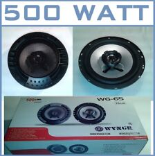 "CASSE ALTOPARLANTI COASSIALI 500 WATT 16,5 cm 2 VIE 6.5""inch WOOFER TWEETER 16CM"