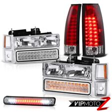 Chevrolet K1500 K2500 K3500 PickUp Silverado Red Tail Light 3RD Headlight LED