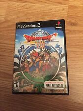 Dragon Quest Viii Journey Cursed King Playstation 2 Ps2 Complete Disk R Mint