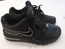 Vintage Nike AIRMAX Men's All Black Rare UK 8 EU 42.5 - 309257-107 - BNWOT