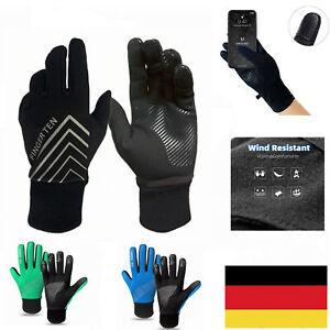 Winter Handschuhe Fahrrad Herren Damen Thermo Motorrad Wasserdicht Touchscreen